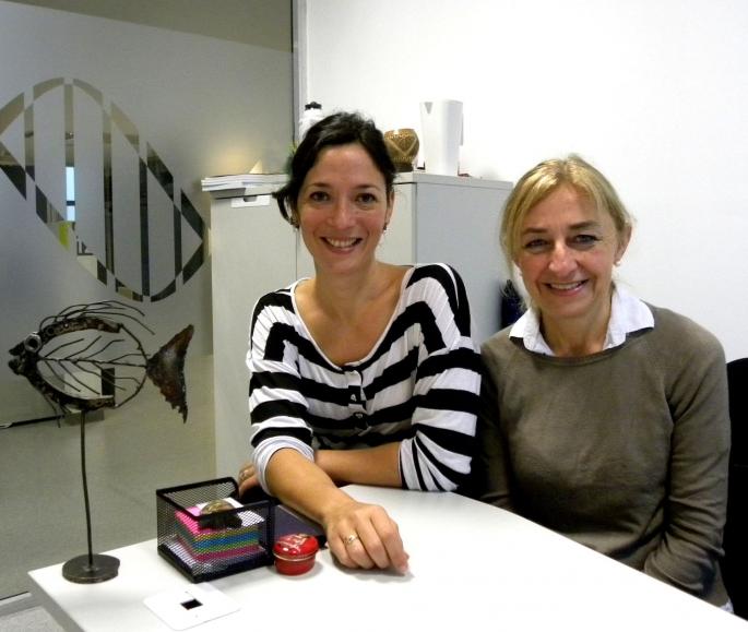 Vanina Villanova y Silvia Arranz